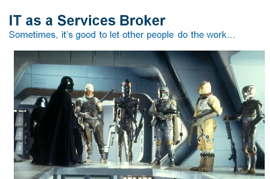 "The Emperor is the ""Customer"" in this example"